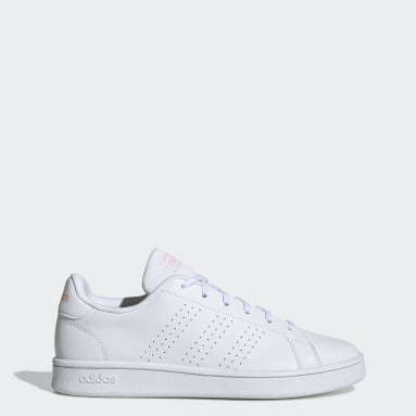 Zapatillas Advantage Base Blanco Mujer Essentials