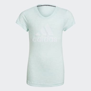 Girls Gym & Training Turquoise Must Haves Tee