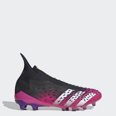 Men Football Black Predator Freak+ Artificial Grass Boots