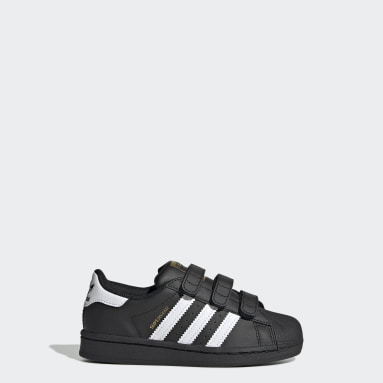 Barn Originals Svart Superstar Shoes