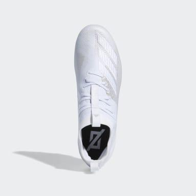 Men's Football White Adizero 8.0 Cleats