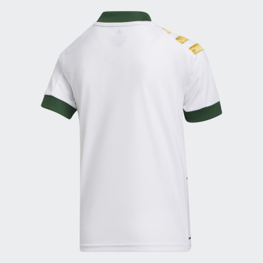 Youth Soccer White Portland Timbers Away Jersey