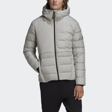 Men City Outdoor Grey Traveer COLD.RDY Down Jacket