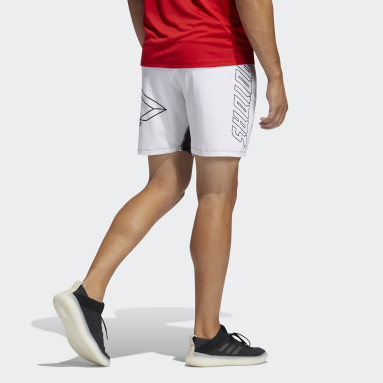 Men Training White FB Hype Shorts