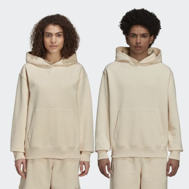 Hoodie Pharrell Williams Basics (Non genré) Beige Originals