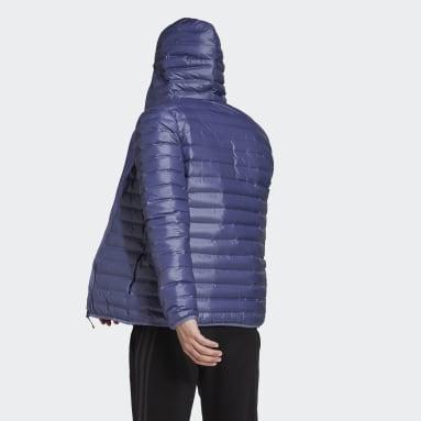 Varilite Hooded Down Jacket Fioletowy