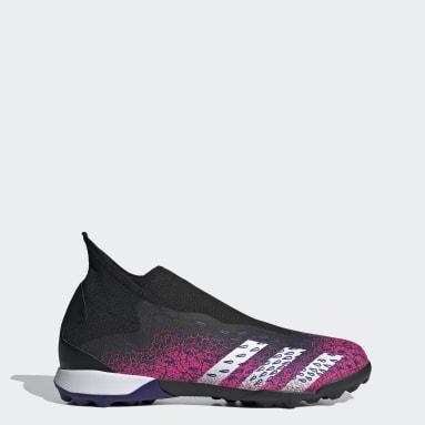 Fotboll Svart Predator Freak.3 Laceless Turf Boots