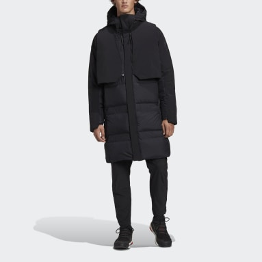 Men City Outdoor Black MYSHELTER COLD.RDY Parka