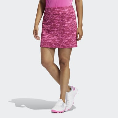 Women Golf Pink Ultimate365 Primegreen Printed Skirt