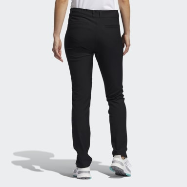 Women Golf Black Primegreen Full-Length Pants