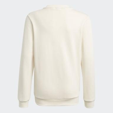 Sweatshirt Algodão de Produção Biológica Sapo Cocas da Disney Branco Criança Originals
