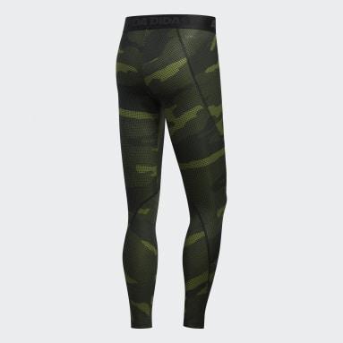 Calzas Alphaskin Camuflaje - Tiro Bajo Verde Hombre Outdoor