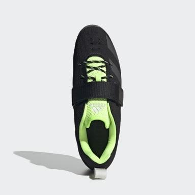 Men's Weightlifting Black Adipower Weightlifting II Shoes