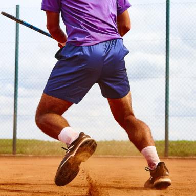 Men's Tennis Black SoleCourt Primeblue Clay Shoes