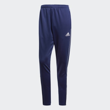 Men Gym & Training Blue Core 18 Training Tracksuit Bottoms