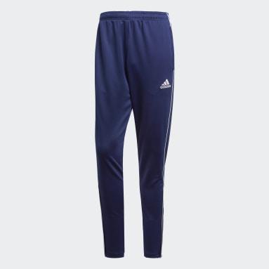 Men Football Blue Core 18 Training Pants