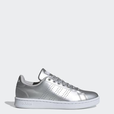 Kadın Sport Inspired Gümüş Advantage Ayakkabı
