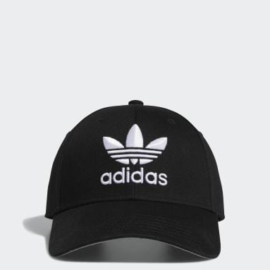 Men's Originals Black Icon Pre-Curved Snapback Hat