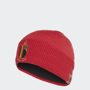 Football Red Belgium Beanie