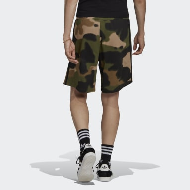 Short Camo 3-Stripes Vert Hommes Originals