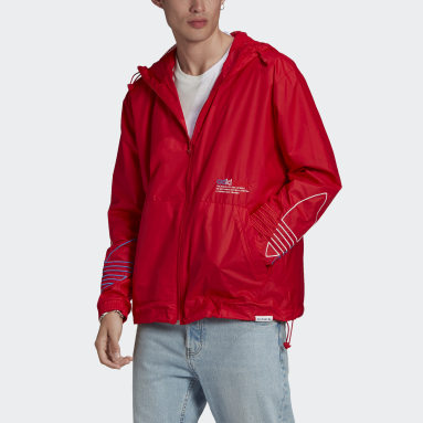 Men Originals Red Adicolor FTO Windbreaker
