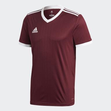 Men Football Burgundy Tabela 18 Jersey
