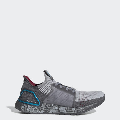 Chaussure Ultraboost 19 Star Wars gris Course