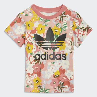 HER Studio London Floral T-skjorte Rosa