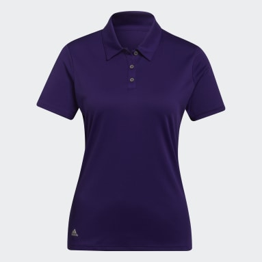 Dames Golf Paars Performance Poloshirt