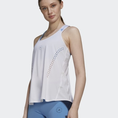 Frauen adidas by Stella McCartney adidas by Stella McCartney TRUEPURPOSE Loose Tanktop Weiß