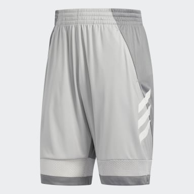 Heren Basketbal Grijs Pro Bounce Short