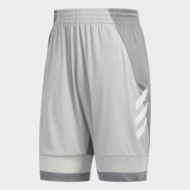 Men Basketball Grey Pro Bounce Shorts