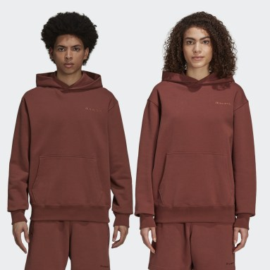 Originals Brown Pharrell Williams Basics Hoodie (Gender Neutral)