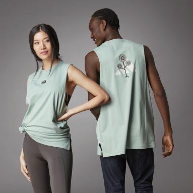 Camiseta sin mangas Terra Love Verde Lifestyle