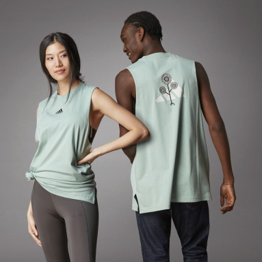 Lifestyle Green Terra Love Tank Top