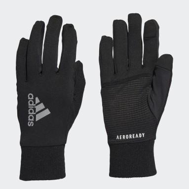 Løb Sort AEROREADY Warm Running handsker