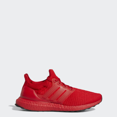 Women Running Red Ultraboost Shoes