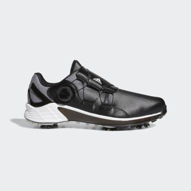 Men's Golf Black ZG21 BOA Golf Shoes