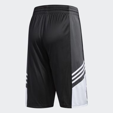 Men Basketball Black Team Speed Pre-Game Shorts