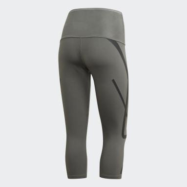 Frauen adidas by Stella McCartney TRUEPACE 3/4-Tight Beige