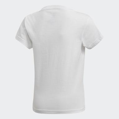 белый Футболка Trefoil