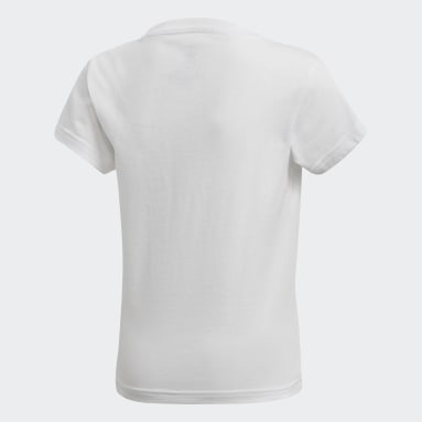 Children Originals White Trefoil Tee