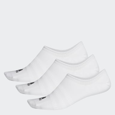 Handball White No-Show Socks 3 Pairs