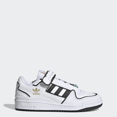 Women Originals White Forum Plus Shoes