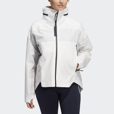 Women's Hiking White MYSHELTER Parley RAIN.RDY Jacket