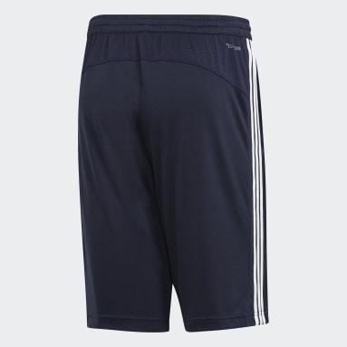 Short Design 2Move Climacool3-Stripes Bleu Hommes Essentials