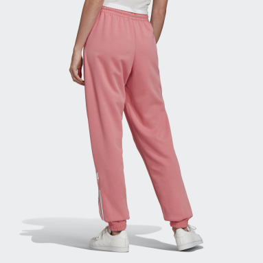 Women Originals Pink Adicolor 3D Trefoil Tracksuit Bottom