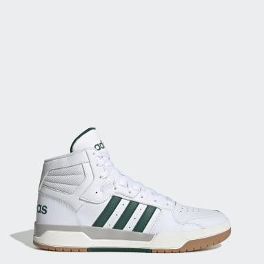 Zapatillas Entrap Mid Blanco Hombre Essentials