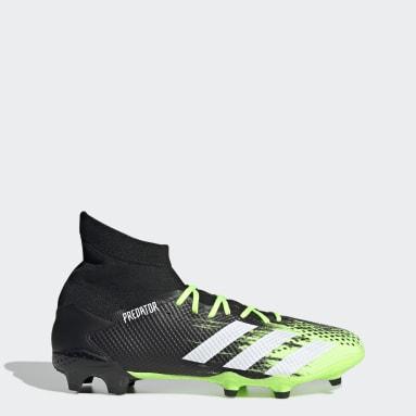 ผู้ชาย ฟุตบอล สีเขียว รองเท้าฟุตบอล Predator Mutator 20.3 Firm Ground