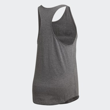 Dam Sportswear Grå Essentials Linear Tank Top